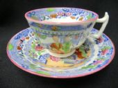 NOT FOR SALE Rathbone London shaped cup & saucer c1810+